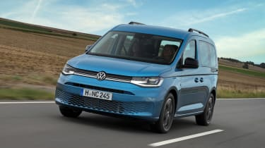 VW Caddy California - front