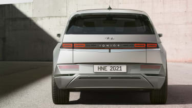 Ioniq 5 - full rear