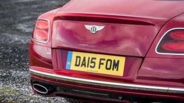 Bentley Contintental GT Speed 2015 tail