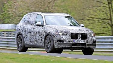 BMW X5 - spyshot