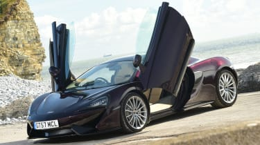 McLaren 570GT - static doors open