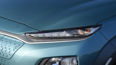 Hyundai Kona Electric - headlight
