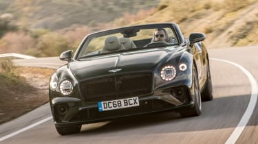 Bentley Continental GT Convertible - front cornering