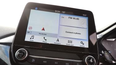 Ford Fiesta - Navigation