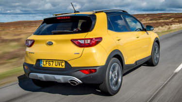 Kia Stonic UK review - rear