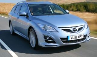 Mazda 6 Estate front tracking
