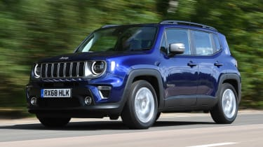 Jeep Renegade - front tracking