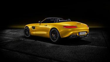 Mercedes-AMG GT S Roadster rear 3/4