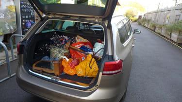 Volkswagen Passat Estate long-term final report - boot full