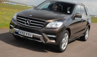 Mercedes ML 250 CDI front tracking