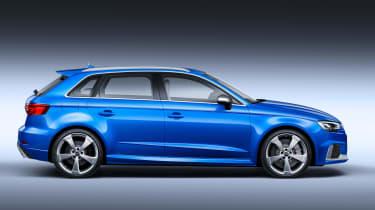 Audi RS3 Sportback 2017 - side studio