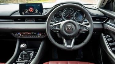 Mazda 6 Kuro Edition - dash