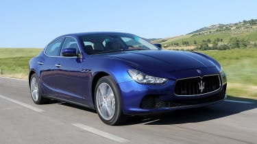 Used Maserati Ghibli - front tracking