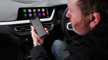 BMW 118i M Sport long termer - second report Apple CarPlay