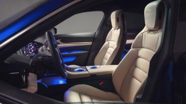 Porsche Taycan - front seats