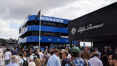 Goodwood Festival of Speed 2018 - Ford stand