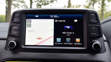 Hyundai Kona Diesel - sat-nav