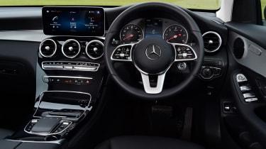Mercedes GLC 220 d  - interior