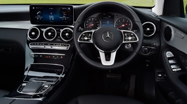 Mercedes GLC 220 d  - interior