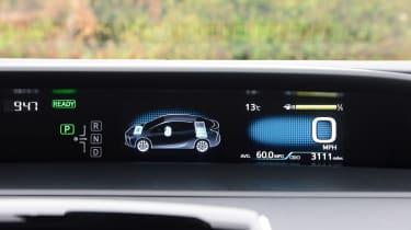Toyota Prius - screen