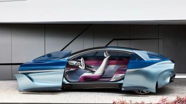 Borgward Isabella concept - doors open
