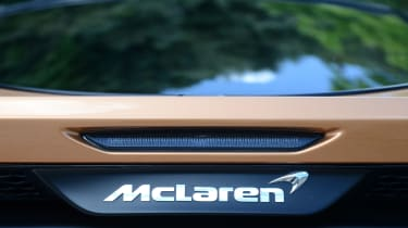 McLaren GT - McLaren badge