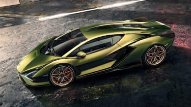 Lamborghini Sian - above