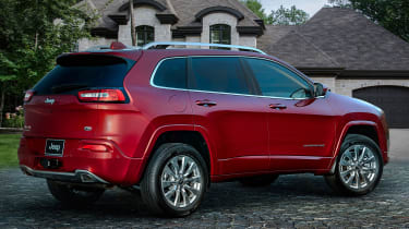 Jeep Cherokee Overland - rear quarter