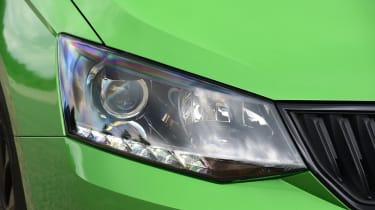 Skoda Fabia - headlight