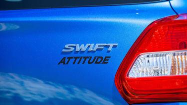 Suzuki Swift Attitude - Attitude badge