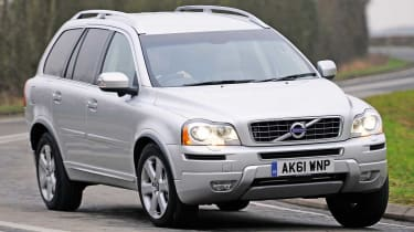 Volvo XC90 front tracking