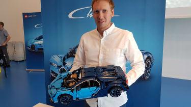 LEGO Bugatti Chiron - designer