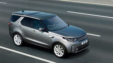 Land Rover Discovery Commercial driving