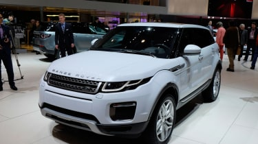 Range Rover Evoque at Geneva2