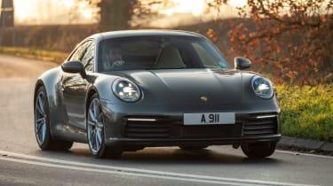 Porsche 911 Carrera - front cornering
