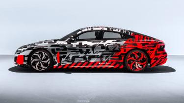 Audi e-tron GT concept side profile