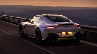 Aston Martin Vantage - rear dusk