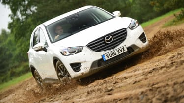 Mazda CX-5 - front off-road
