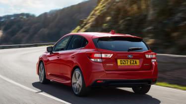 2017 Subaru Impreza - rear quarter