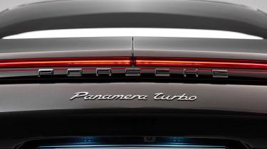 Porsche Panamera - studio rear detail