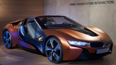 BMW i8 'iVision' concept CES 2016 front