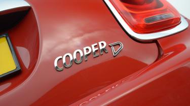 MINI Cooper D 2014 badge