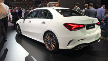 Mercedes A-Class Saloon - Paris - Rear 3/4