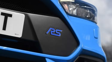 Ford Focus RS group - RS badge