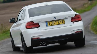 BMW 2 Series - rear