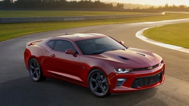 This is the 2016 Chevrolet Camaro, unveiled after a lengthy teaser campaign.