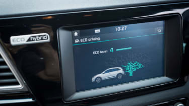 Living with an EV - Kia Niro infotainment