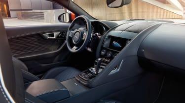 Jaguar F-Type SVR official interior