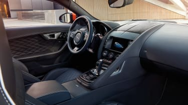 Jaguar F-Type SVR official interior