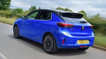 Vauxhall Corsa-e - rear